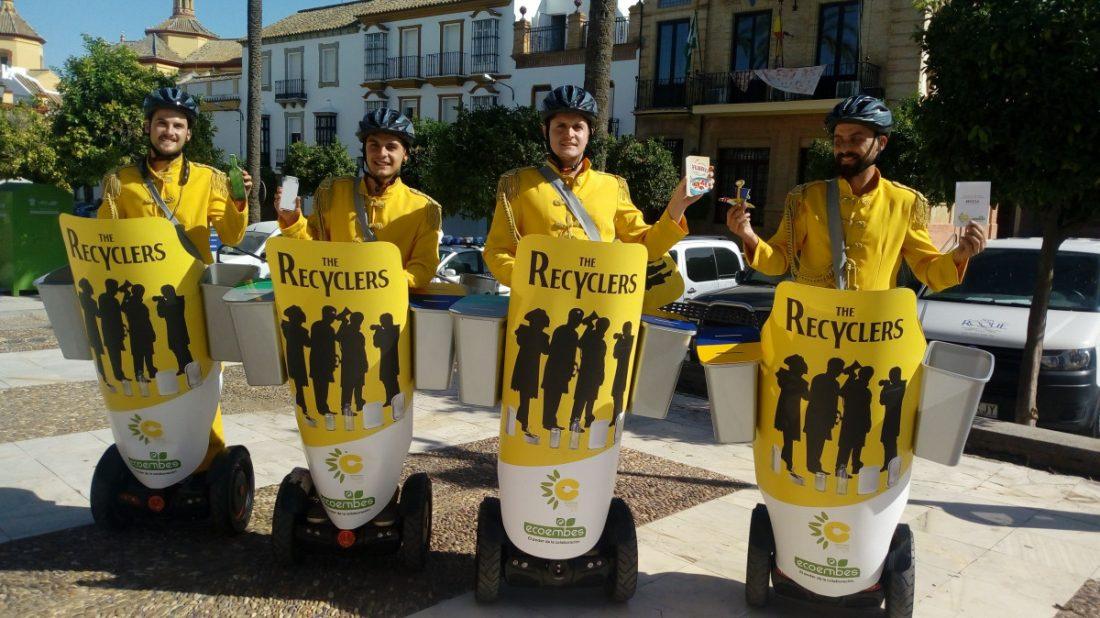 AionSur Ecoembes-Mancomunidad-Campiña Paradas se apunta al reciclaje con un comando de Ecoembes Medio Ambiente