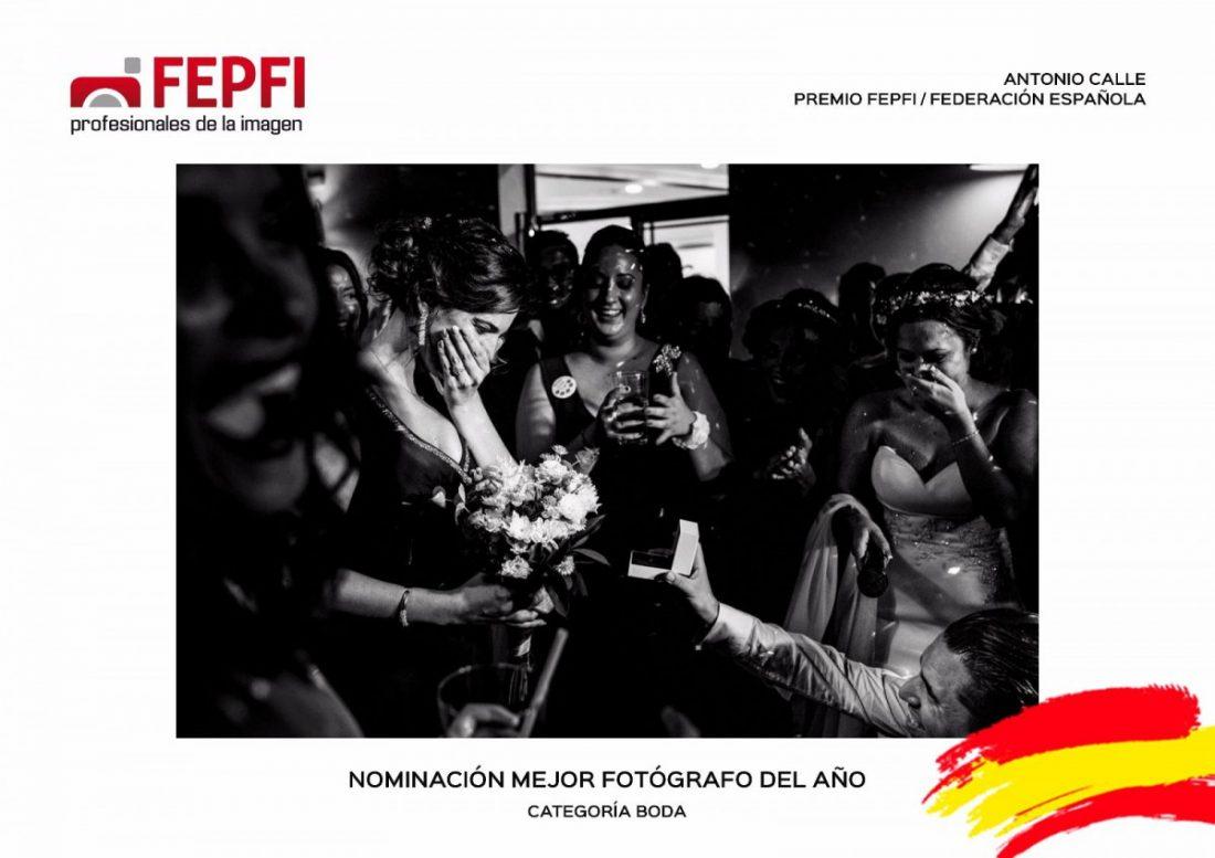 AionSur: Noticias de Sevilla, sus Comarcas y Andalucía FEPFI-bodas-nominados-Marchena El fotógrafo Antonio Calle nominado para un premio nacional de profesionales de la imagen Cultura Marchena