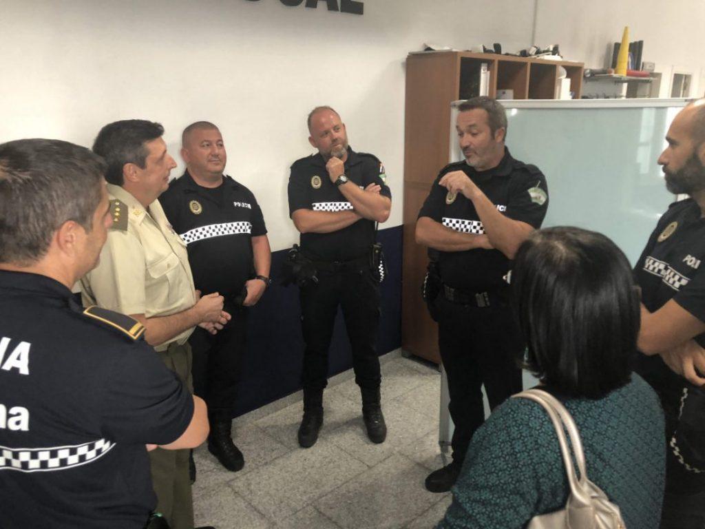 AionSur Marchena-visita-delegado-1024x768 El delegado de Defensa explica en Marchena la función de la institución que representa Marchena  destacado