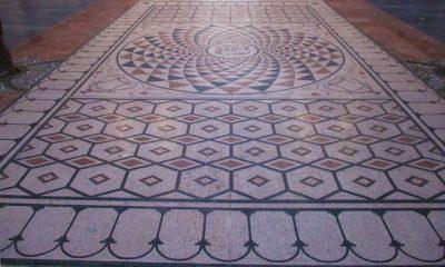 AionSur: Noticias de Sevilla, sus Comarcas y Andalucía Mosaico2-400x240 Replican en Herrera un mosaico romano de casi 40 metros cuadrados Cultura Herrera