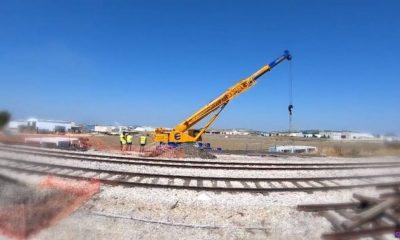 AionSur areciar-obra-Marchena-400x240 Arreglan una zona de desbordamiento en la vía del tren a su paso por Marchena Marchena