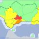 AionSur aviso-80x80 Activado aviso rojo por fuertes lluvias esta madrugada en la Sierra Sur sevillana Sucesos  destacado