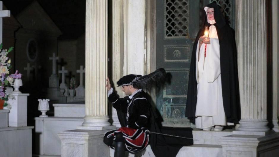 AionSur cementerio ¿Te gustaría ver Don Juan Tenorio en el cementerio de Sevilla? Cultura Teatro
