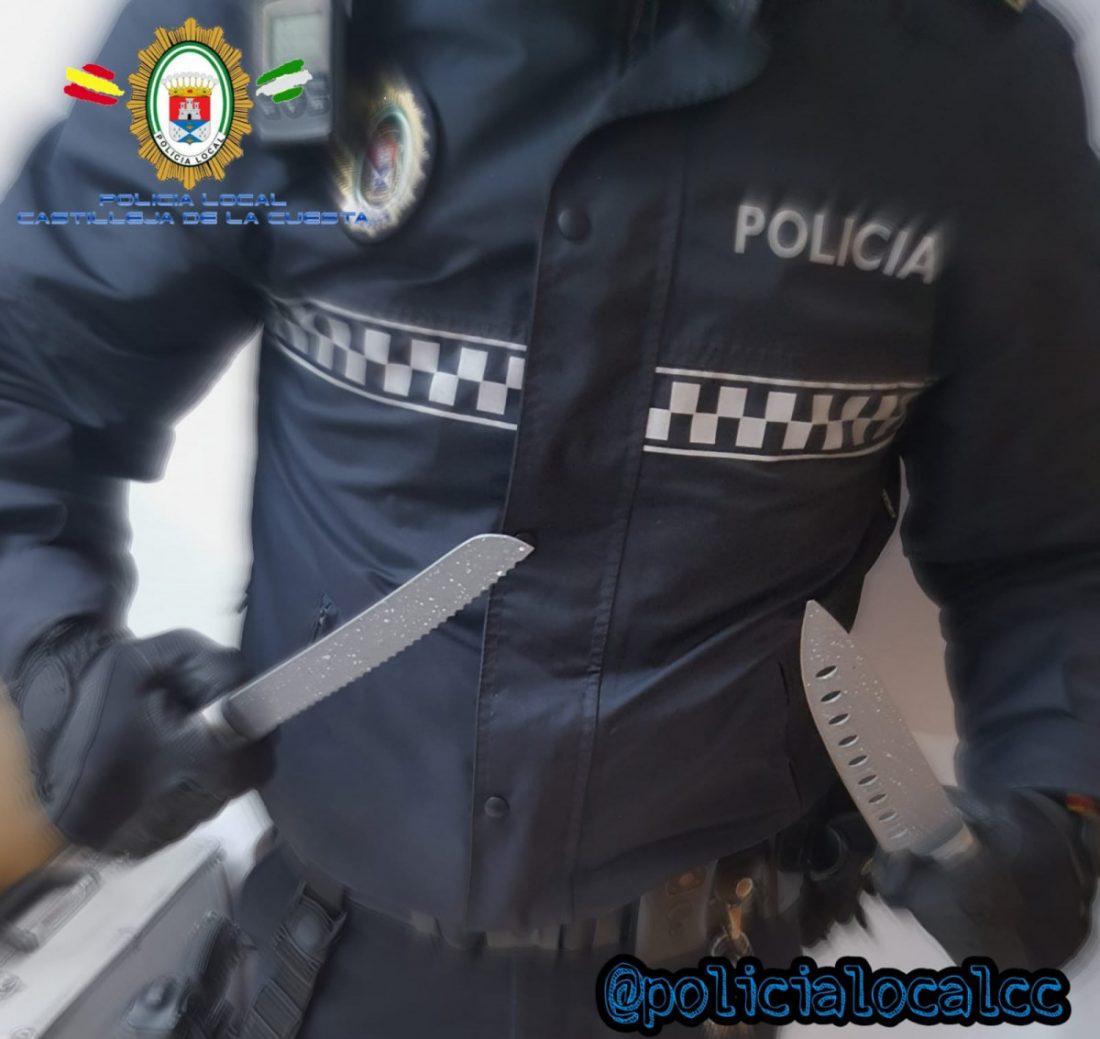 AionSur cuchillos-1 Desciende la tasa media de criminalidad en Andalucía a su mejor cota histórica Andalucía