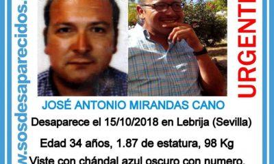 AionSur desaparecido-lebrija-400x240 Buscan a un vecino de Lebrija desaparecido desde el pasado lunes Sucesos