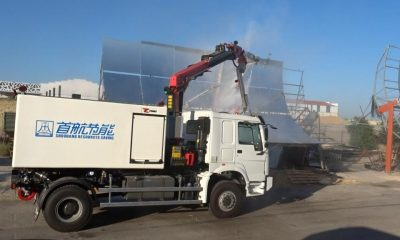 AionSur feniks-1-400x240 Feniks entrega tres vehículos para limpiar la primera planta termosolar de concentración China Economía Empresas