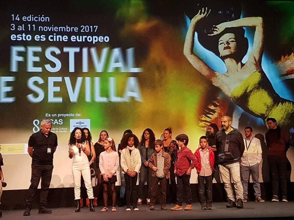 AionSur fetival-cine-Uriel-Sevilla Uriel, un niño arahalense que se siente en los rodajes como pez en el agua Arahal  destacado