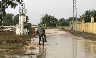 AionSur inundaciones-Arahal-A92-400x240 Cuando con solano llueve hasta las piedras se mueven Arahal Sucesos  destacado