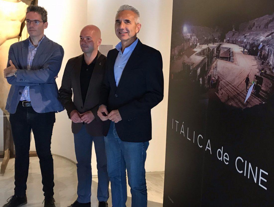 AionSur: Noticias de Sevilla, sus Comarcas y Andalucía italica-cine El gran plató de cine de Itálica se muestra en una exposición Cultura
