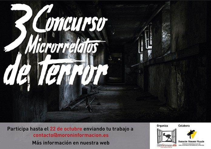 AionSur micorrelatos-terror-Morón Morón Información lanza el III Concurso de microrrelatos de terror Morón de la Frontera