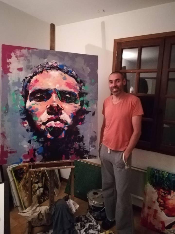 AionSur pintor-Francia-Arahal El albañil pintor que encontró en Francia su inspiración