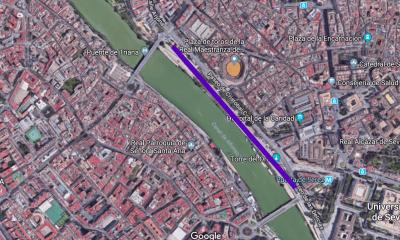 AionSur sevilla-barra-compressor-400x240 Unos 300 bares montan en Sevilla la barra de bar más larga del mundo Sociedad  destacado