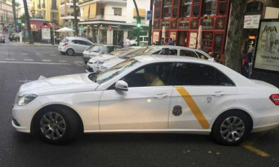 AionSur taxi-sevilla-400x240 Los taxistas de Sevilla convocan caravanas en varias zonas de Sevilla Sevilla Sociedad