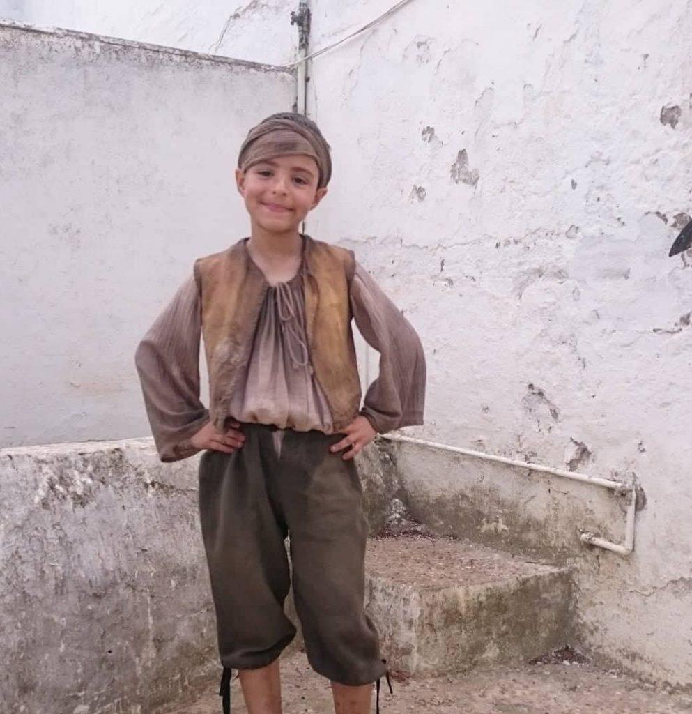 AionSur uriel-festival-LaPeste-993x1024 Uriel, un niño arahalense que se siente en los rodajes como pez en el agua Arahal  destacado