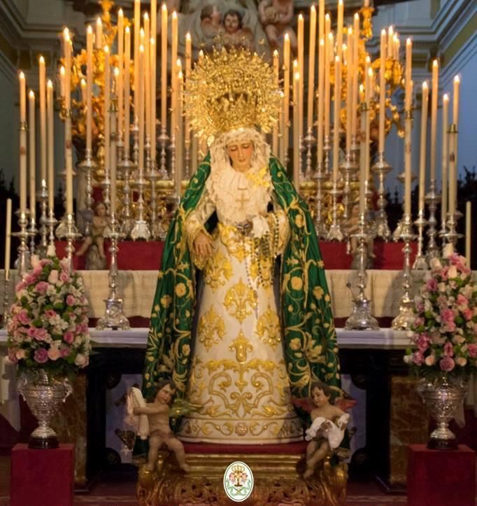 AionSur virgen-Angustias-Arahal Arahal celebra esta semana dos actos religiosos de relevancia Semana Santa
