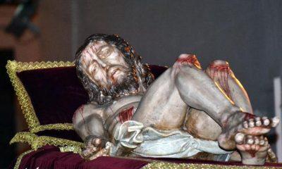 AionSur 019-400x240 El Cristo de las Aguas de La Puebla entra en el taller de Patrimonio para ser restaurado La Puebla de Cazalla Semana Santa