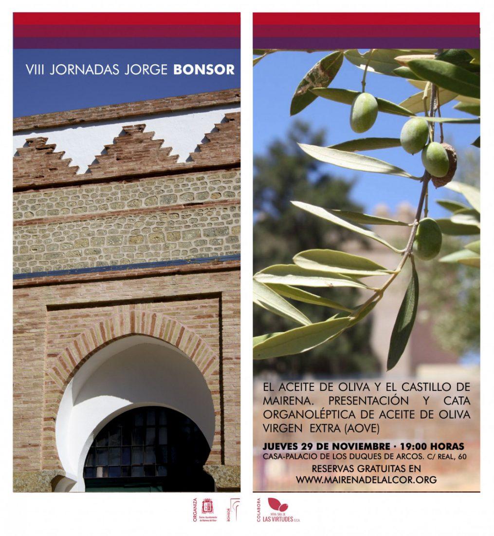 AionSur Aniversario-Bonsor-AOVE Cata de aceite en Mairena dentro de las VIII Jornadas Jorge Bonsor Mairena del Alcor