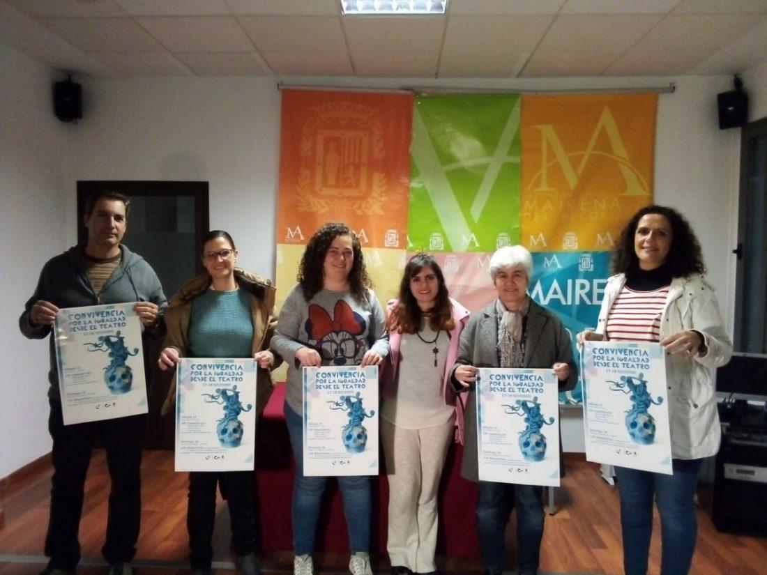 AionSur Mairena-teatro-convivencia Presentada la 1ª Convivencia por la Igualdad desde el Teatro Mairena del Alcor