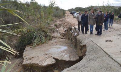 AionSur Osuna-inundaciones-visita-400x240 La reparación de los caminos rurales de Osuna, empezará en diciembre, según el Consejero Osuna
