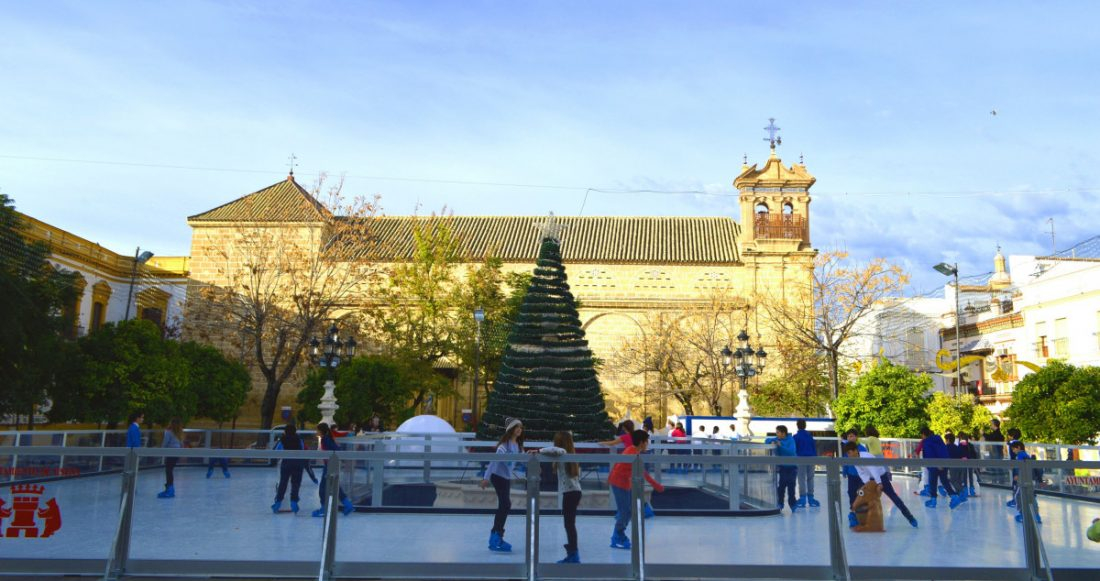 AionSur Osuna-pista-hielo Se vuelve a abrir en Osuna la pista de hielo ecológico para Navidad Osuna