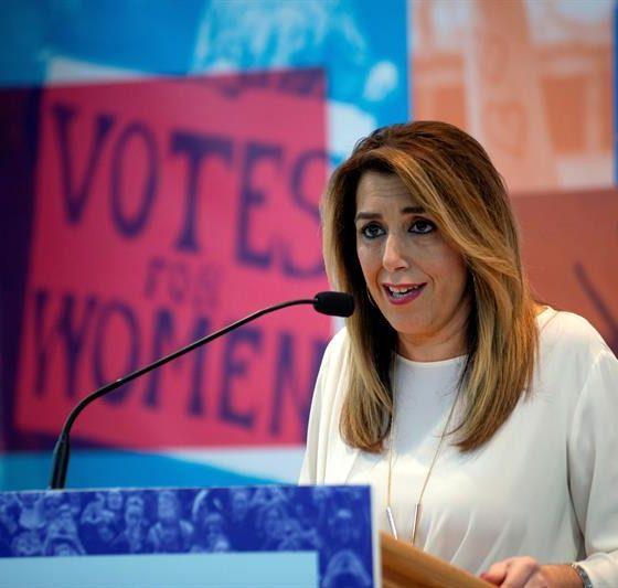 AionSur Susana-Diaz-560x533 Denuncian en los juzgados a Susana Díaz por las listas de espera en sanidad Salud