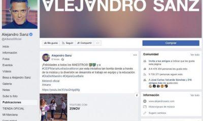 AionSur alejandro-sanz-morón-400x240 Alejandro Sanz felicita a un colegio de Morón por educar a través de la música Morón de la Frontera Sociedad  destacado