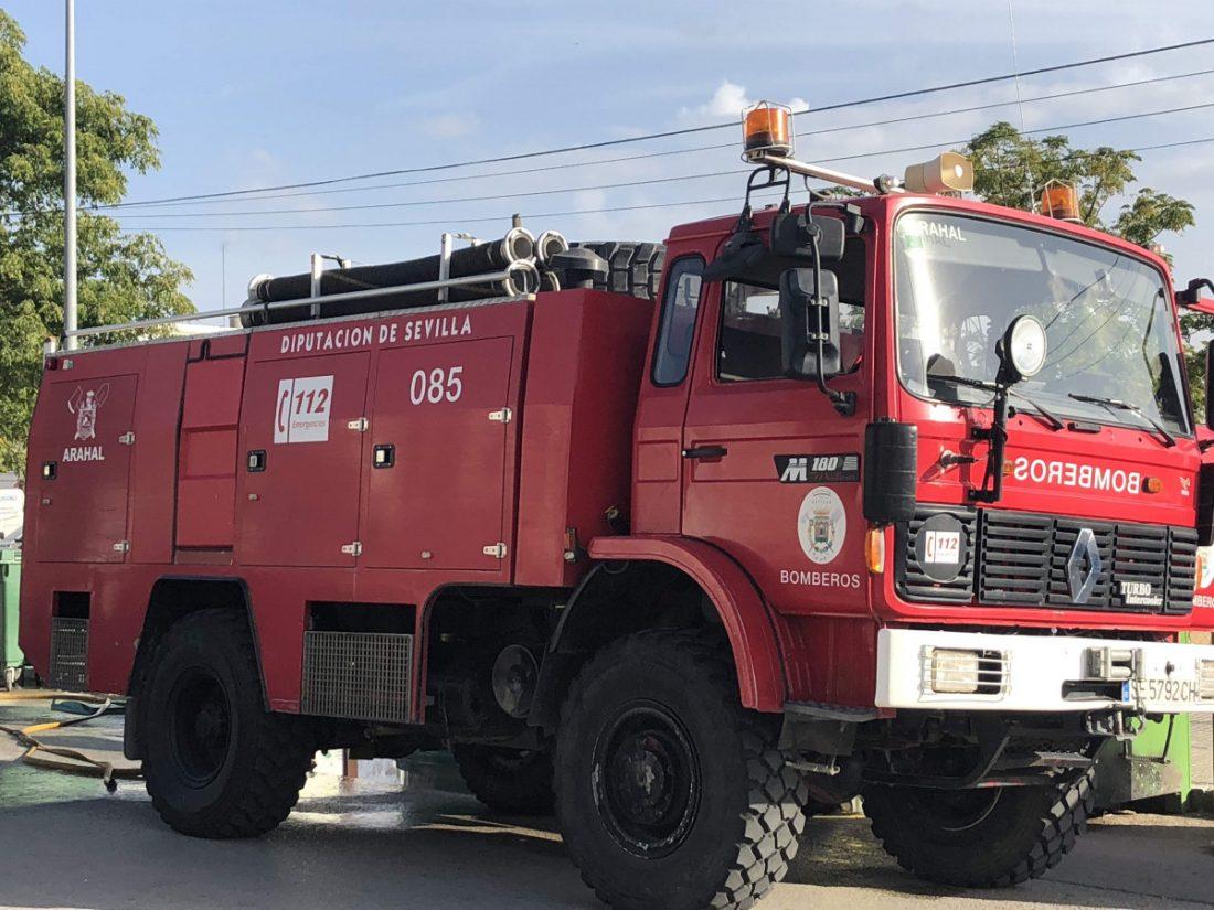 """AionSur bomberos-diputación-PP Nuevos cierres del parque de bomberos de Santiponce por """"falta de personal"""" Sociedad"""