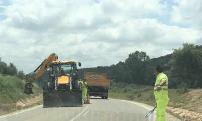 AionSur carretera-Coripe-obras-400x240 Reclaman a la Diputación de Cádiz el arreglo de la carretera entre Coripe y Puerto Serrano Coripe Provincia