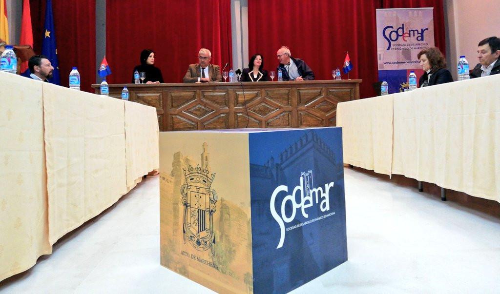 AionSur juntamarchena Ramírez de Arellano defiende el papel de las corporaciones locales en el tejido económico andaluz Economía