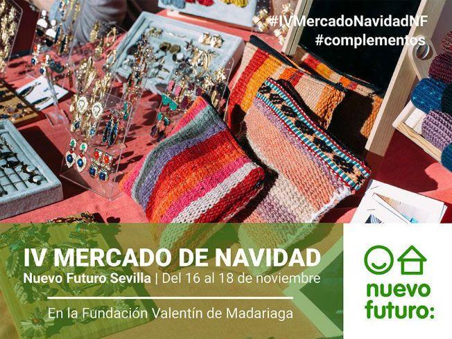 AionSur mercado-navidad-sevilla El IV Mercado de Navidad de Nuevo Futuro se celebra este fin de semana