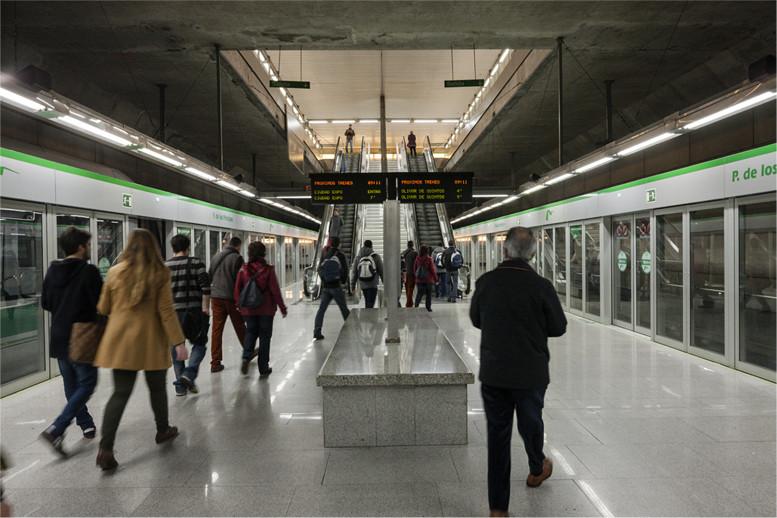 AionSur metroSevilla Los paros en el metro de Sevilla afectan hoy a miles de viajeros Empresas