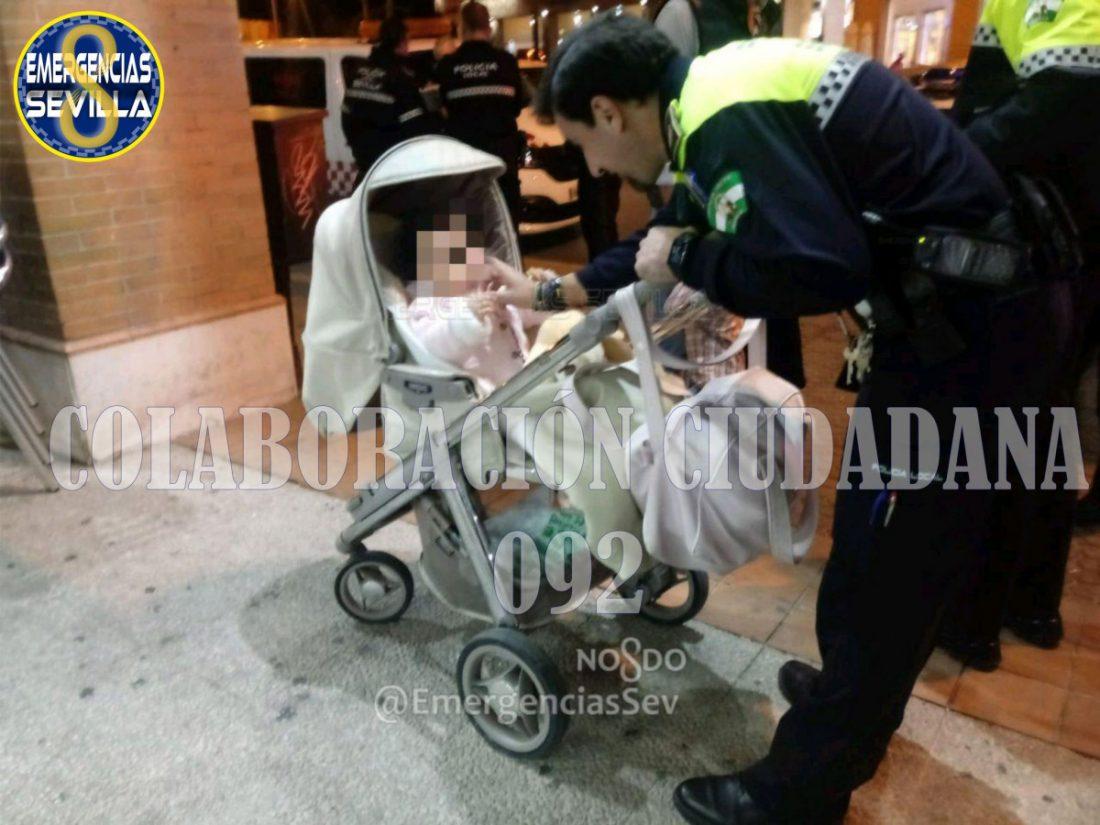 AionSur silla-bebe Detenido el padre de la bebé abandonada en un bar de Sevilla Sucesos destacado