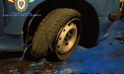 AionSur Castilleja-Cuesta-accidente-400x240 Un conductor que cuadruplica la tasa de alcoholemia, se estampa contra un coche en Castilleja Sucesos