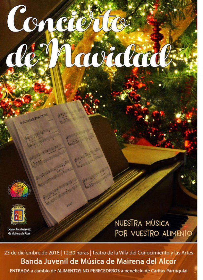 AionSur ConciertoNavidadMairena Mairena del Alcor dedica su Concierto de Navidad a recoger alimentos para Cáritas