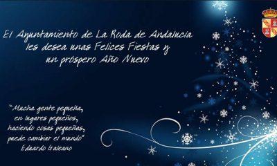 AionSur Roda_Felicitacion-400x240 La Roda no enviará su felicitación de Navidad y destinará el dinero a catering social La Roda de Andalucía Sociedad  destacado