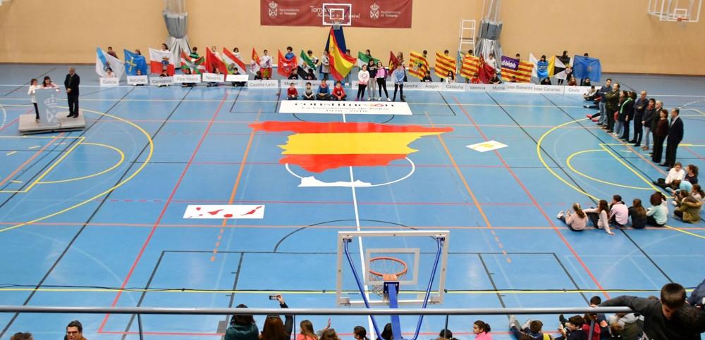 AionSur Tomares_Puzzle Un puzzle gigante del mapa español para celebrar el cumpleaños de la Constitución Sociedad