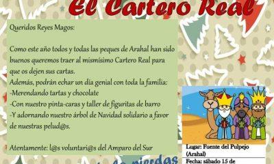 AionSur cartero-Amparo-Sur-400x240 El Cartero Real del Amparo del Sur recibe a los pequeños más solidarios Agenda Arahal