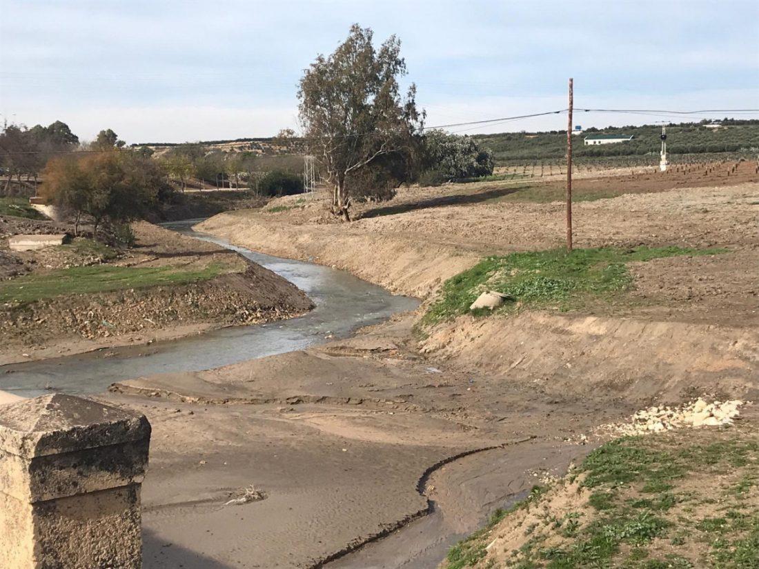 AionSur corbones Restaurado el cauce del río Corbones a su paso por La Puebla de Cazalla La Puebla de Cazalla