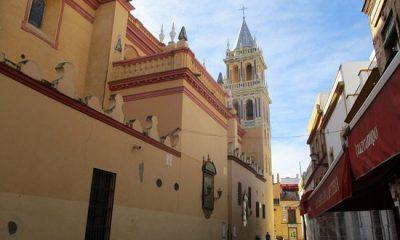 "AionSur iglesiasantaana-400x240 Triana transforma su ""catedral"" en una iglesia italiana para una película Cultura"