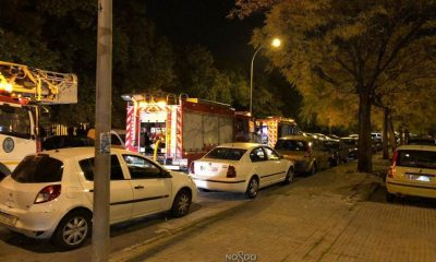 AionSur incendioSevilla-400x240 Muere un hombre de unos 55 años en un incendio en su casa de Sevilla Sucesos  destacado