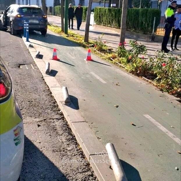 AionSur policia-sevilla Conduce borracho por un carril bici hasta que lo para la Policía Sucesos