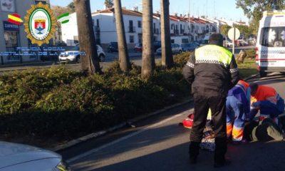 AionSur AccidenteCastilleja-400x240 Detenido un conductor sin carné tras un atropello grave Sin categoría Sucesos  destacado