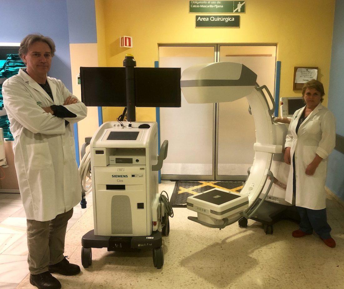 AionSur Arco-C-Neurocirugia El Virgen del Rocío incorpora equipamiento de última generación en intervenciones de Neurocirugía