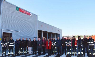 AionSur Bomberos-Osuna-400x240 Inaugurado el nuevo parque de bomberos de Osuna para atender Sierra Sur y Campiña Osuna destacado