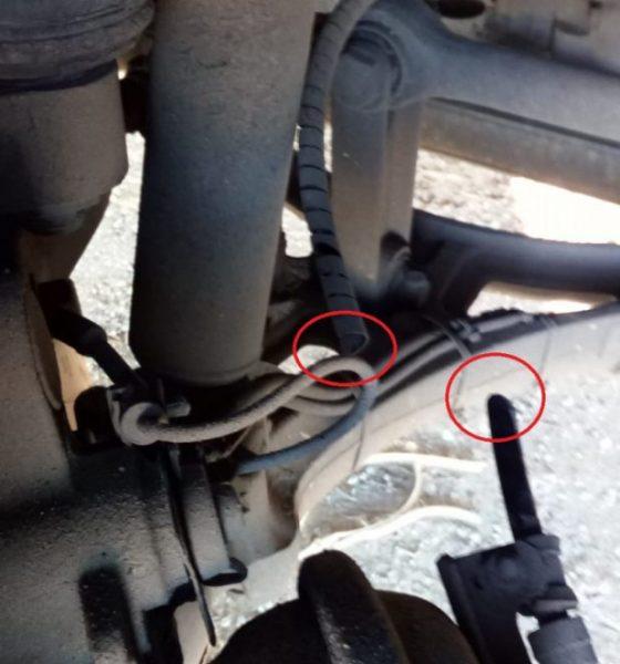 AionSur CORTE-LATIGUILLO-FRENO-560x600 Detenido el autor de los sabotajes a los autocares de Damas en Los Palacios Los Palacios Sucesos
