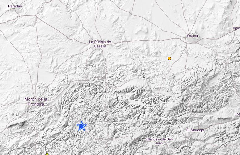 AionSur Captura-de-pantalla-2019-01-14-a-las-17.00.09 Registrados dos terremotos casi al mismo tiempo en Morón y Osuna Morón de la Frontera Osuna Sucesos