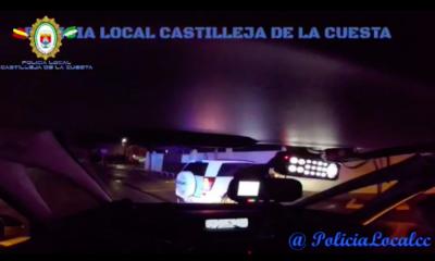AionSur Castilleja-Poli2-400x240 Se queda dormido en el suelo tras perseguirlo la Policía por saltarse un control Sucesos  destacado