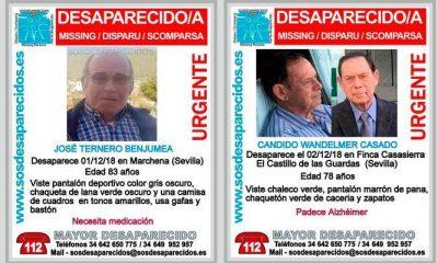 AionSur Desaparecidos-400x240 Un mes sin noticias de los desaparecidos en Marchena y Castillo de las Guardas Marchena Sucesos