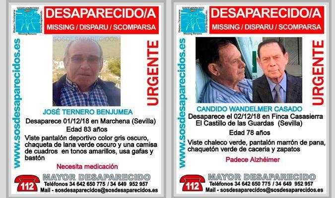 AionSur Desaparecidos Un mes sin noticias de los desaparecidos en Marchena y Castillo de las Guardas Marchena Sucesos