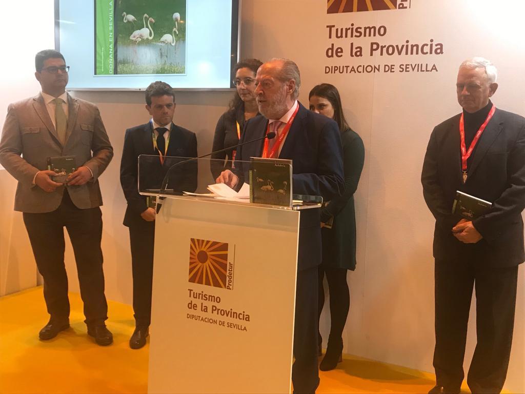 AionSur DonanaGuia Lo mejor de la Doñana sevillana se recoge en una guía Sevilla Sociedad